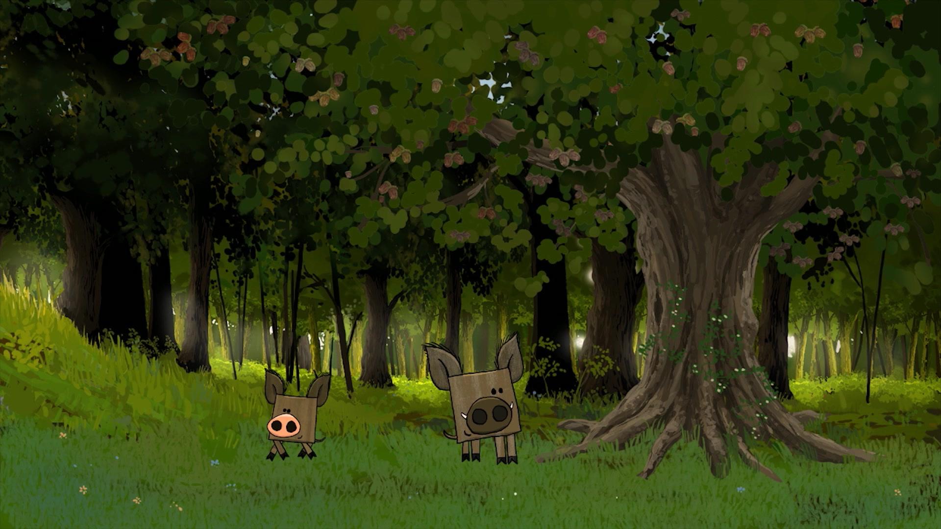 Квадратные зверюшки - Серия 10