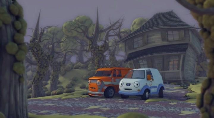 Олли: Веселый грузовичок / Темный переулок
