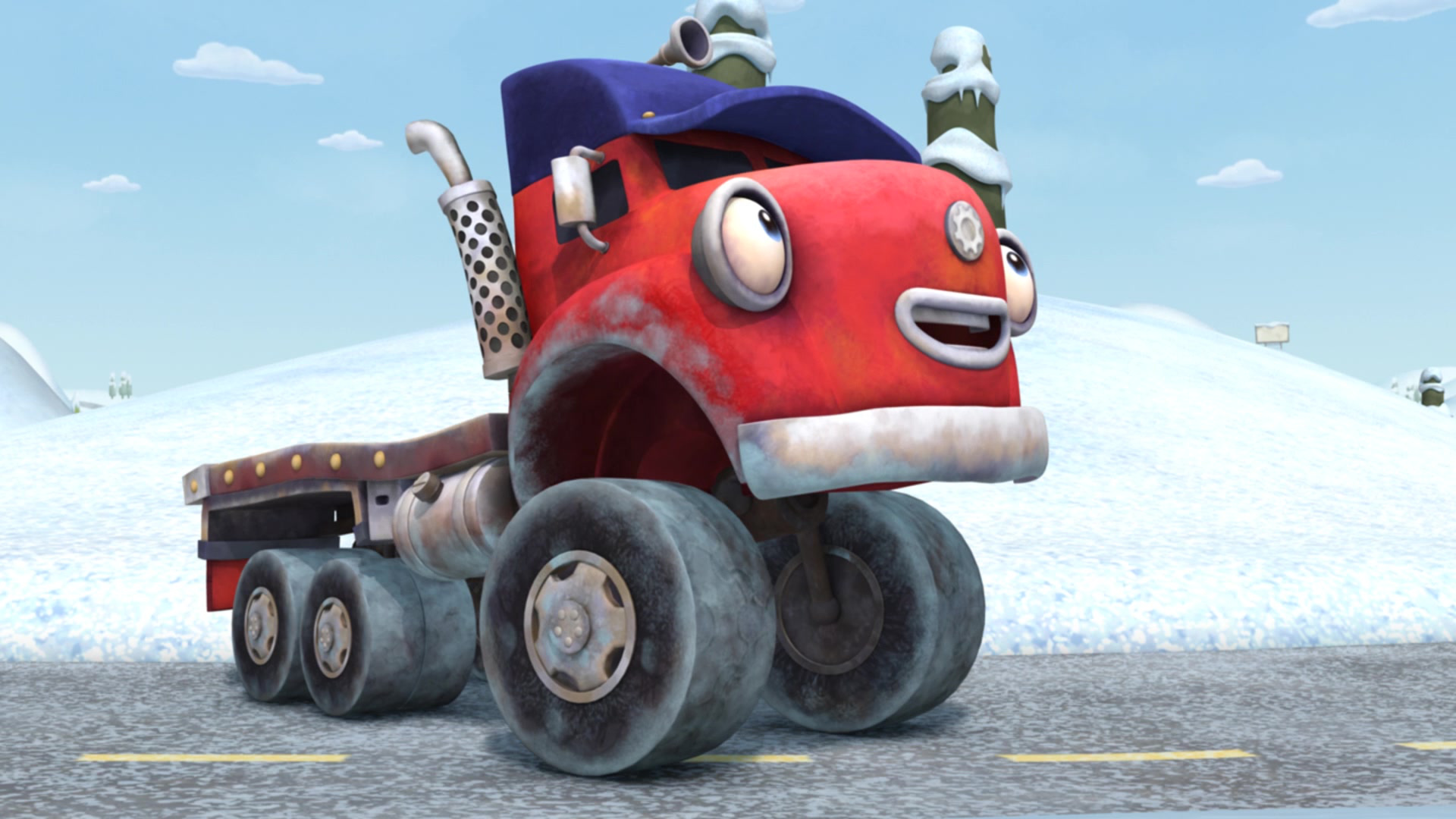 Трактаун / Снежный трамплин