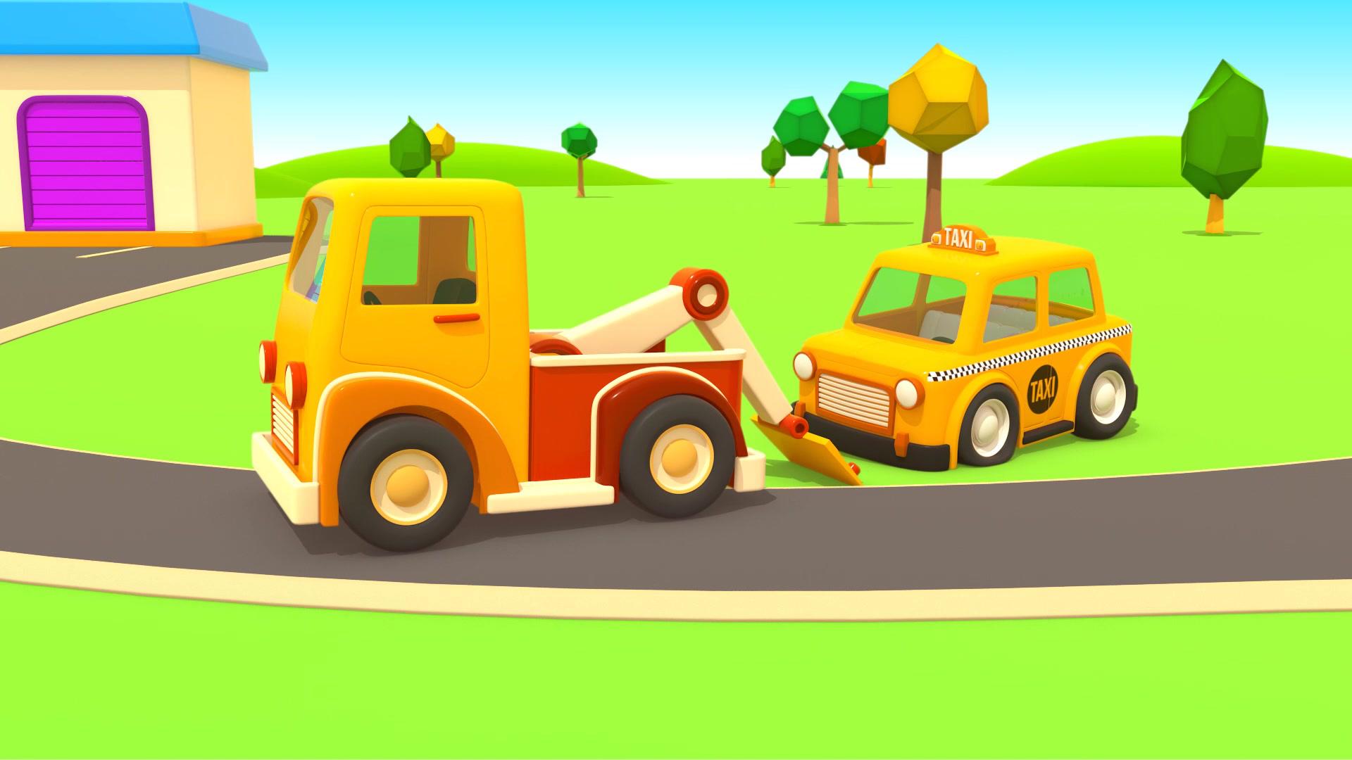Машины-помощники / Такси и эвакуатор