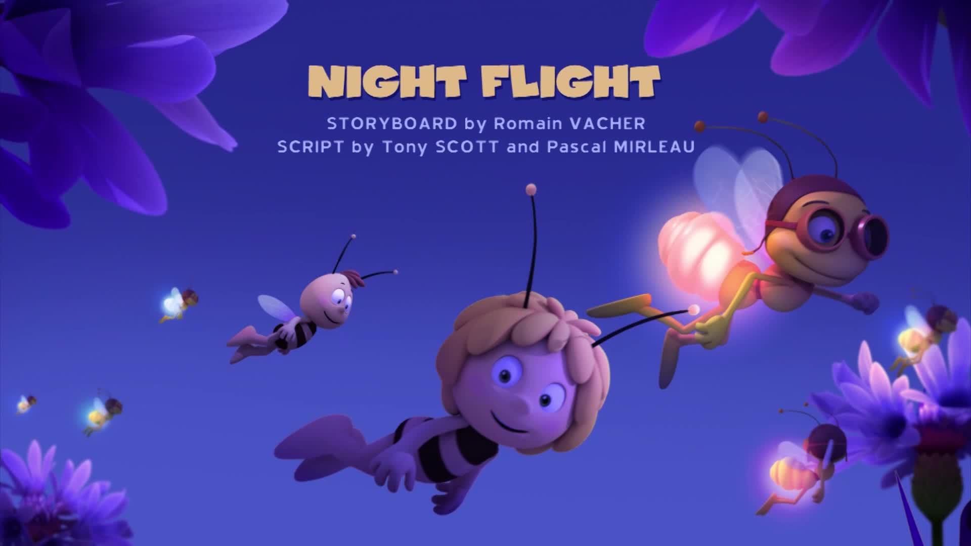 Пчелка Майя: Новые приключения / Ночной полёт