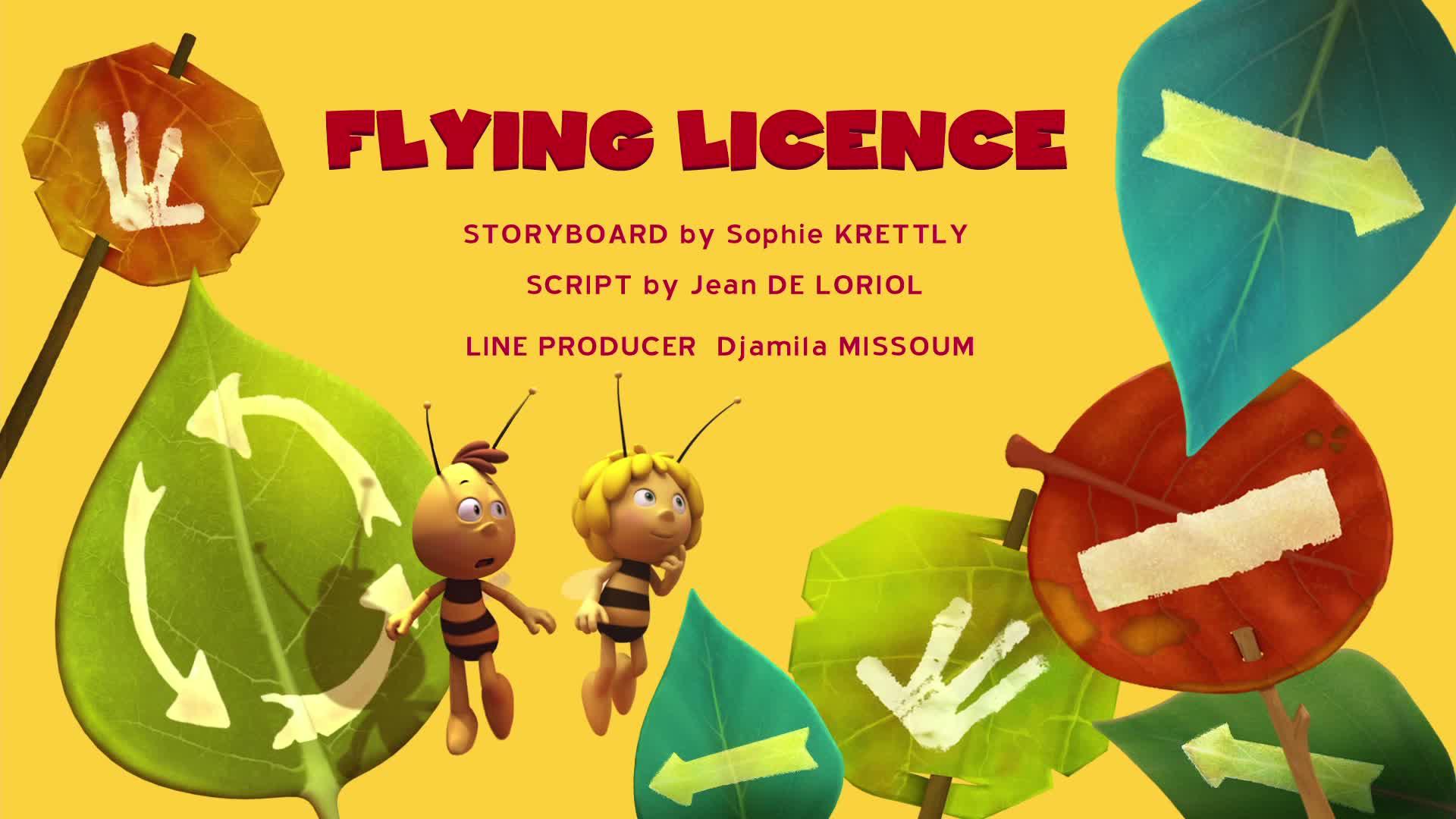 Пчелка Майя: Новые приключения / Право летать