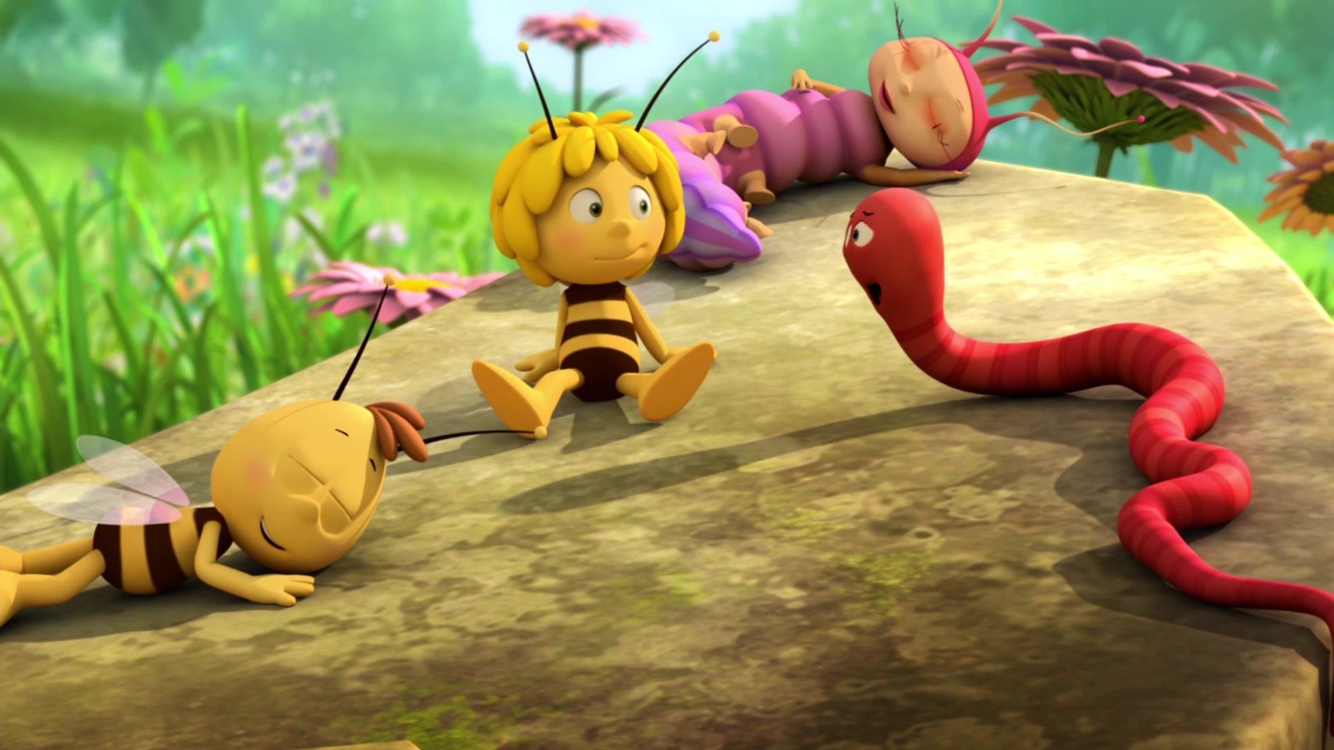 Пчелка Майя: Новые приключения / Земля и небо