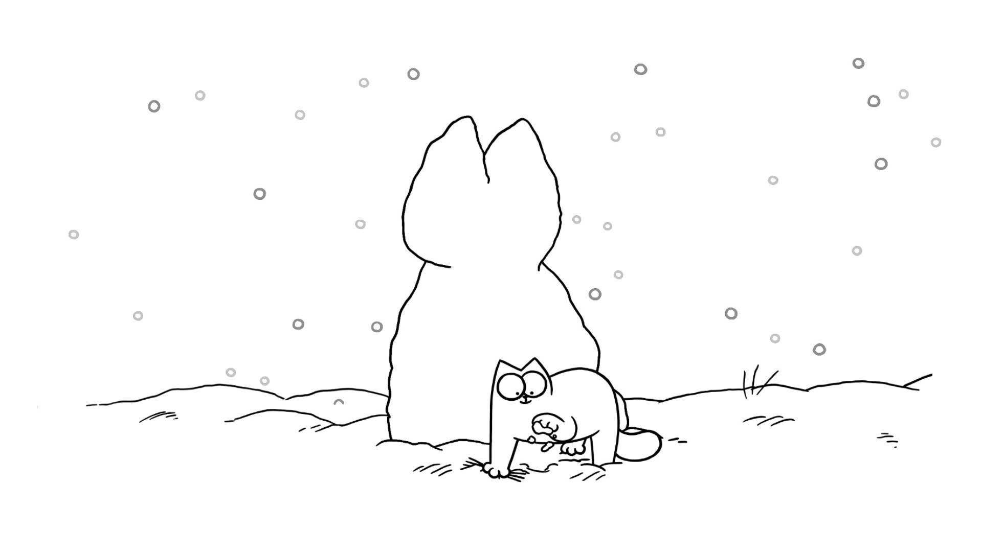 Кот Саймона / Снегокот