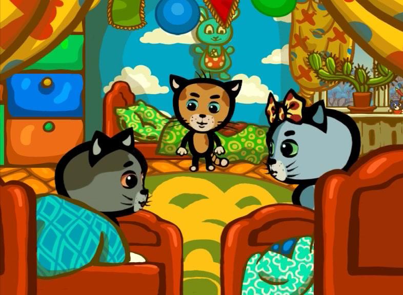Три котёнка - Серия 2