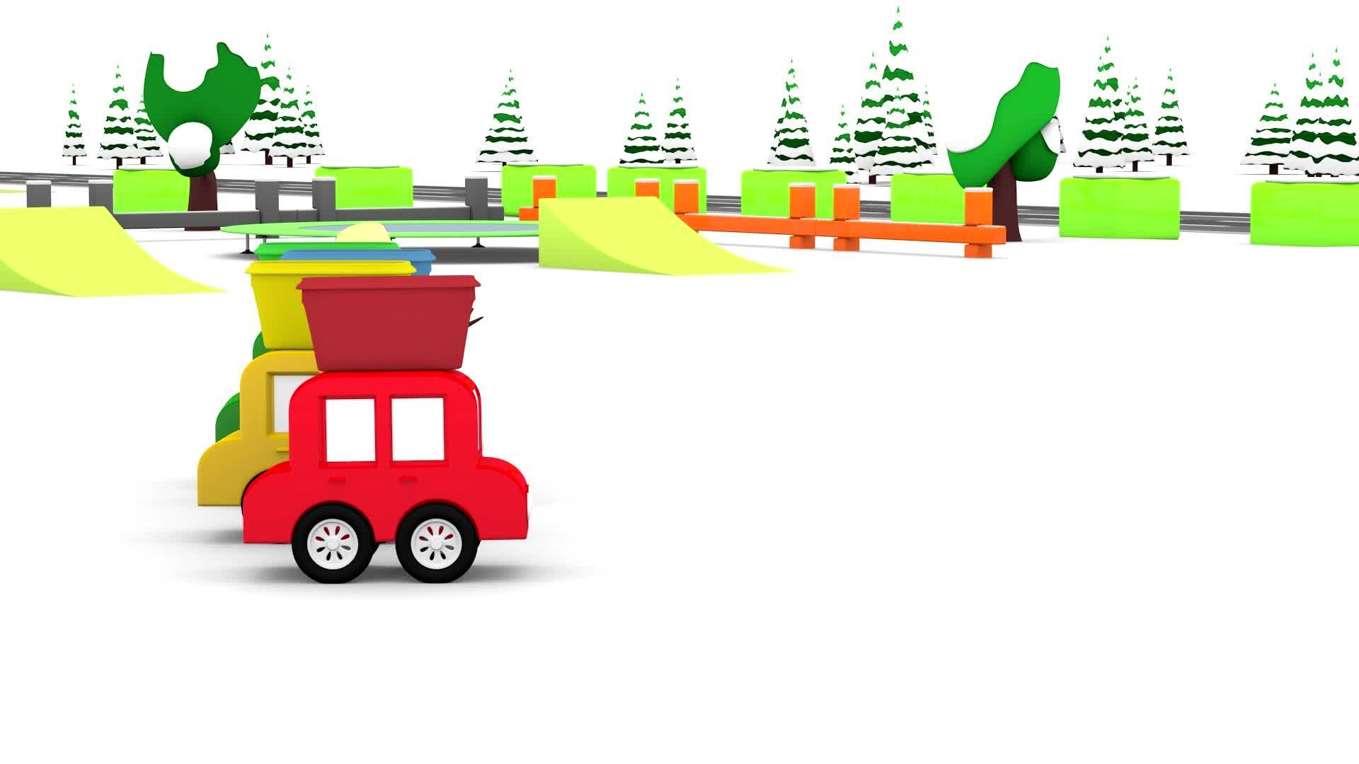 4 машинки / Снегоуборочная машина