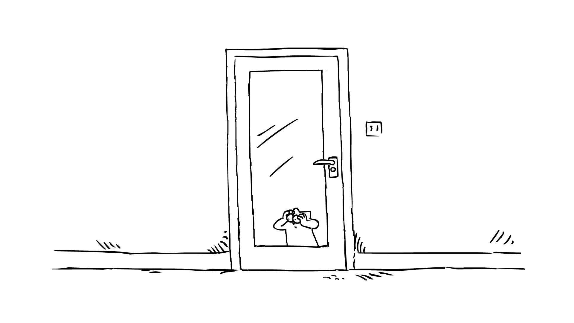 Кот Саймона / Впусти меня!