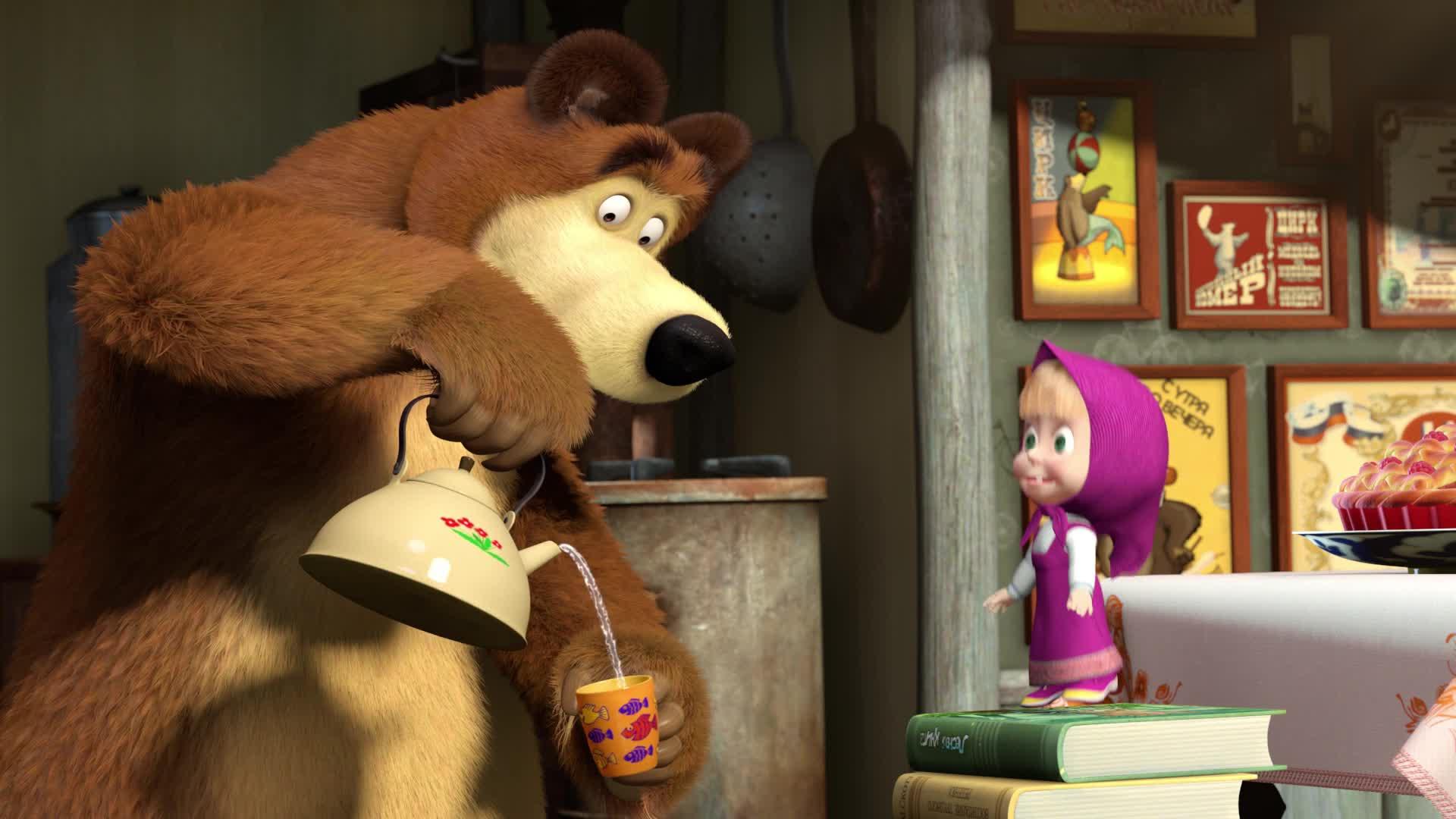 Маша и Медведь. Песенки - Серия 5