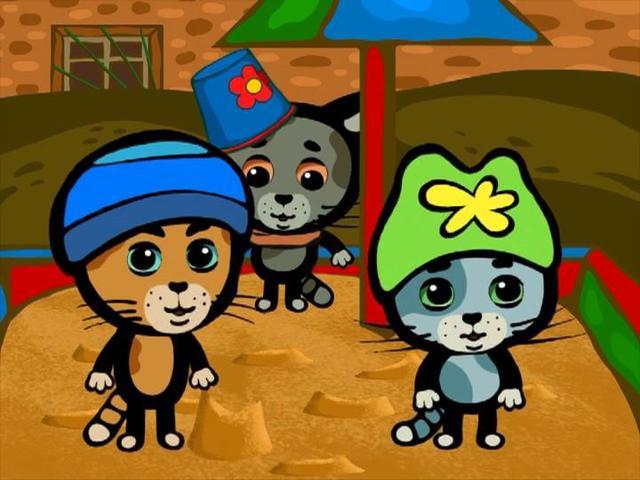 Три котёнка - Серия 10