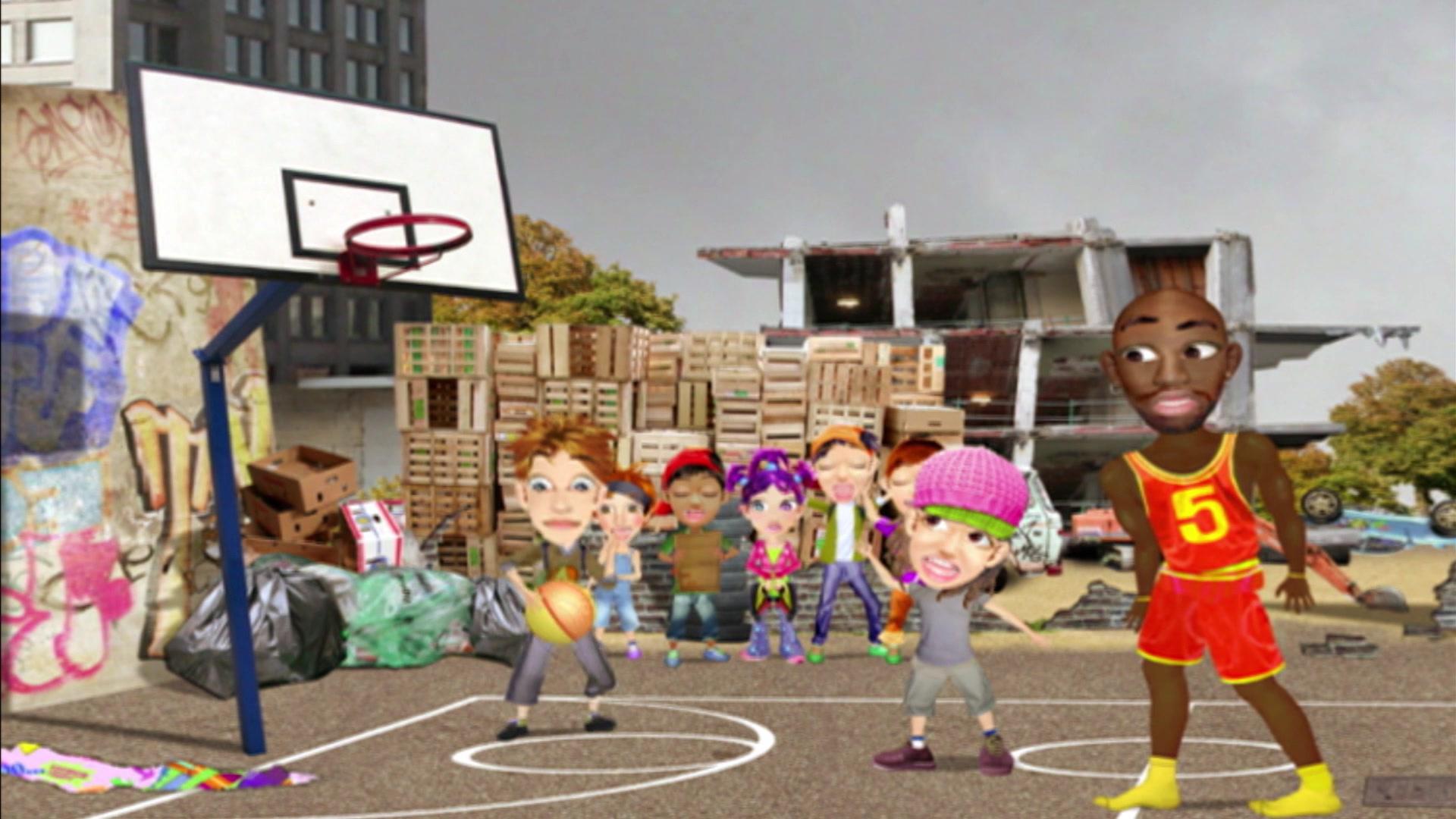 Флетмания / Баскетбол