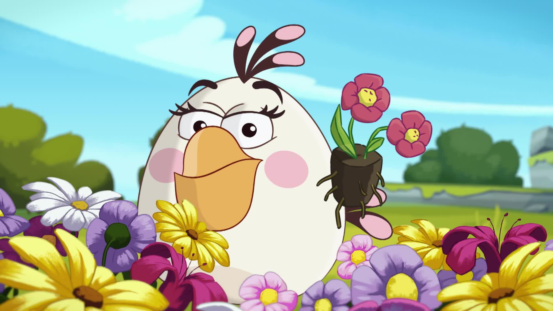 Энгри Бердс – сердитые птички / Помедленнее, Чак!