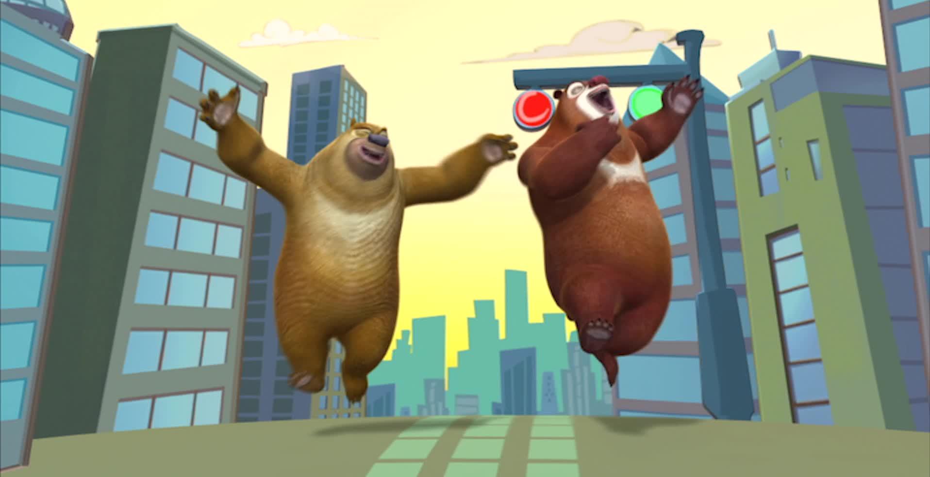 Медведи-соседи / Уличное выступление