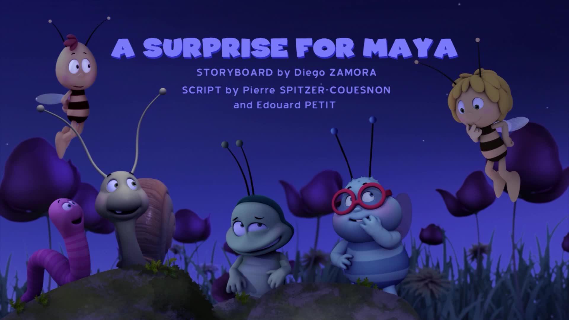 Пчелка Майя: Новые приключения / Сюрприз для Майи