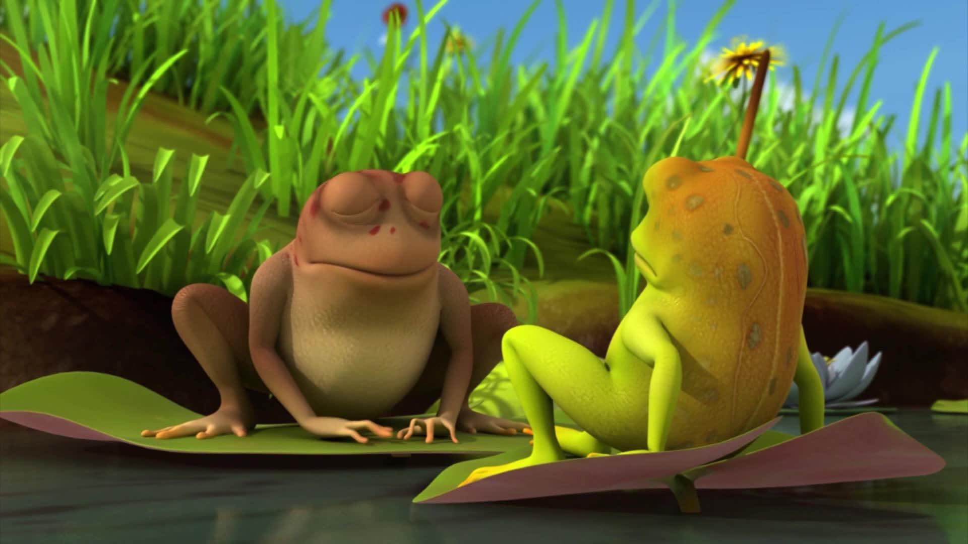 Пчелка Майя: Новые приключения / Жадные лягушки