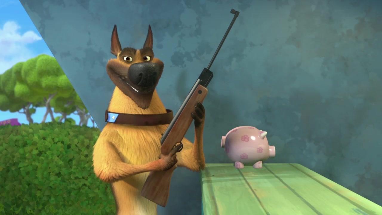 Белка и Стрелка: Озорная семейка 2 - Серия 4