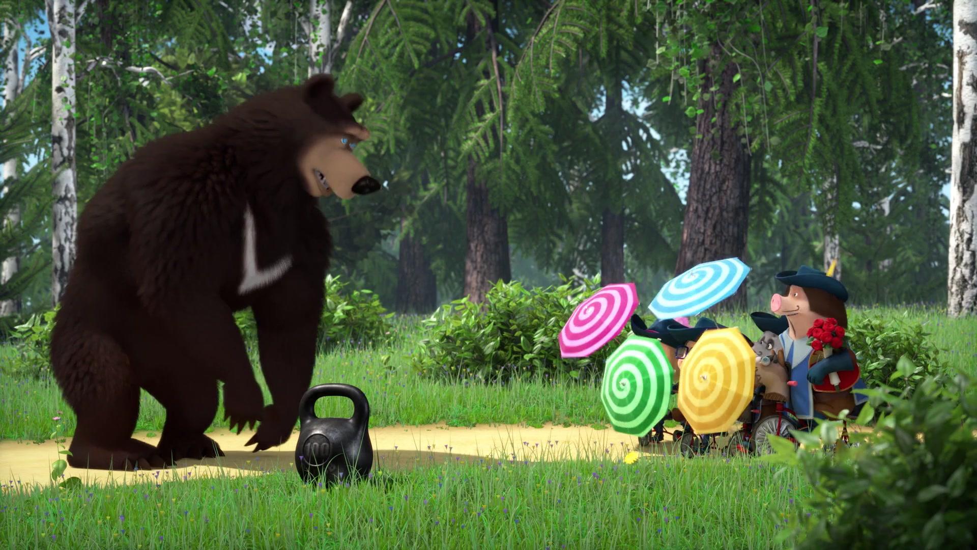 Маша и Медведь. Песенки - Серия 10