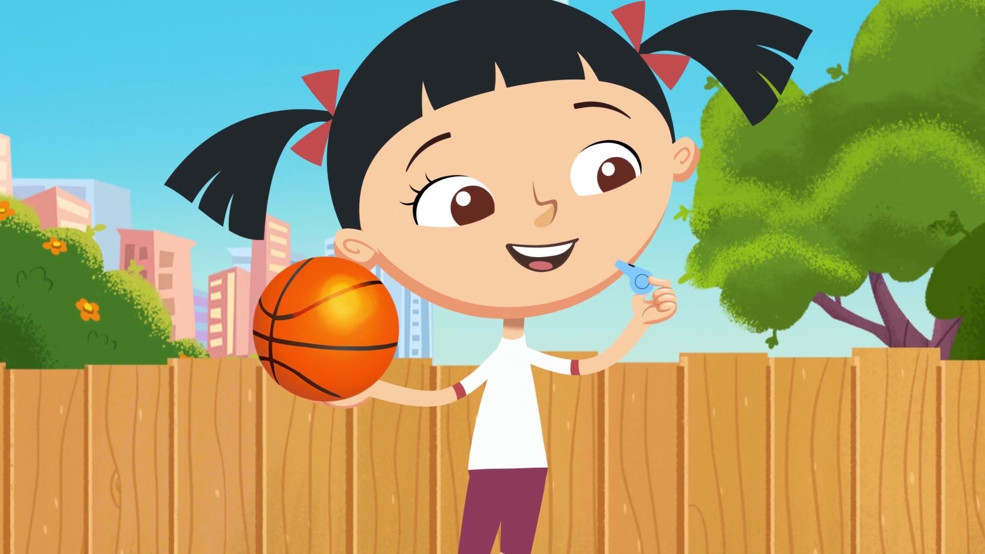 Спортания. Серии и песенки / Баскетбол