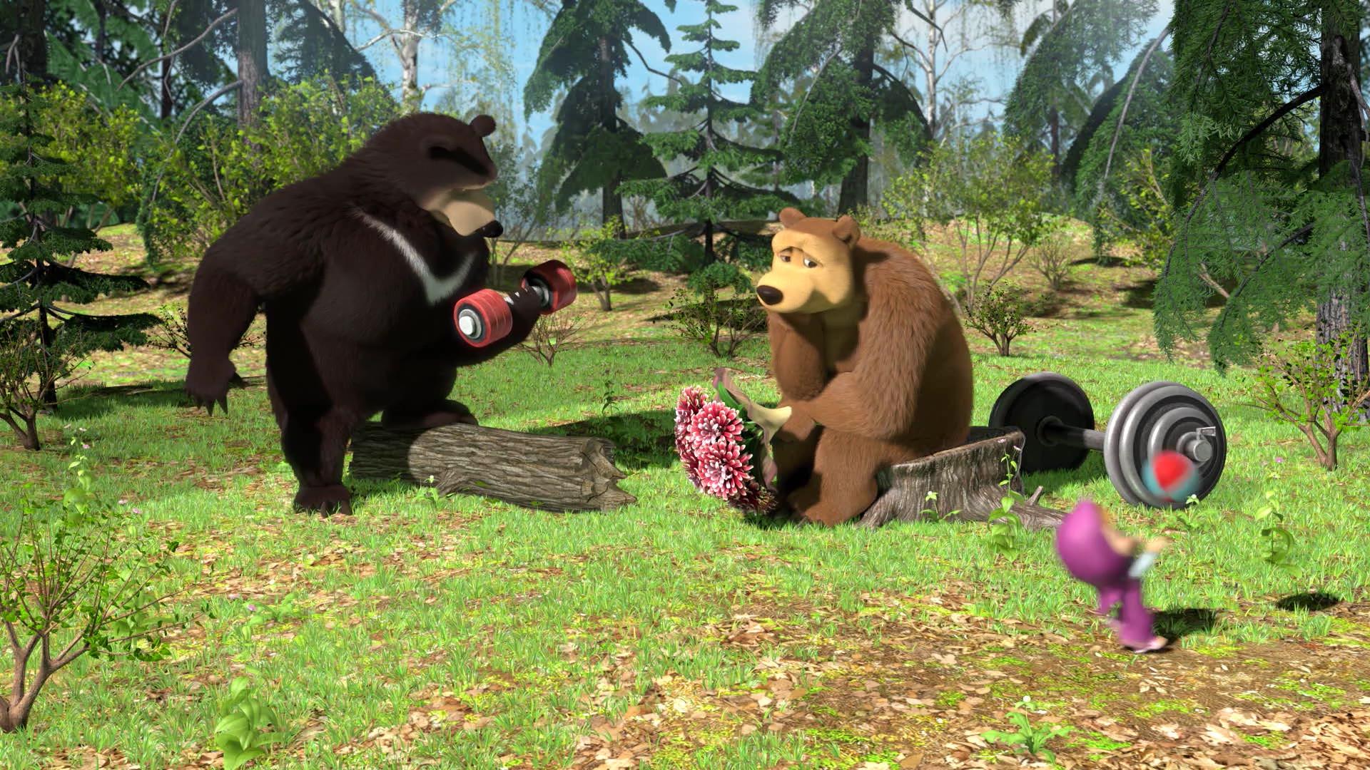 Маша и Медведь. Песенки - Серия 2