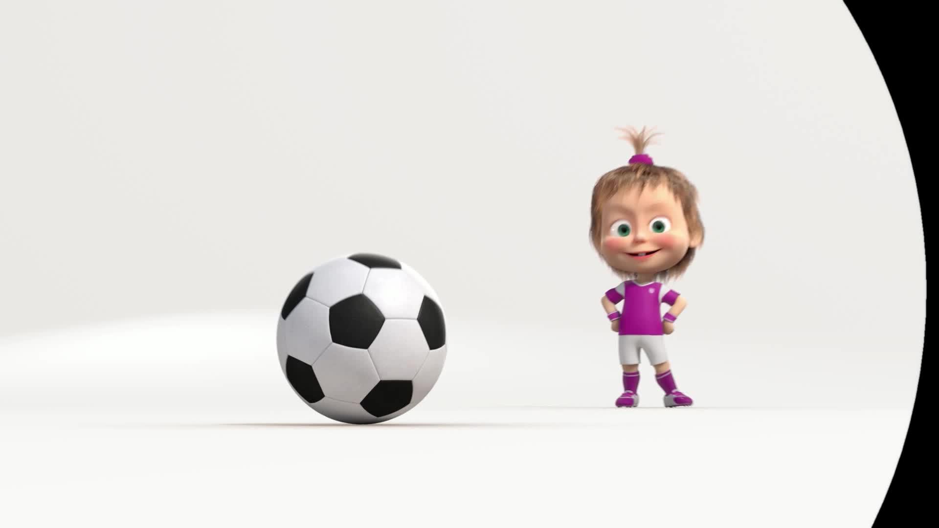 Маша и Медведь. Футбольный выпуск - Серия 5