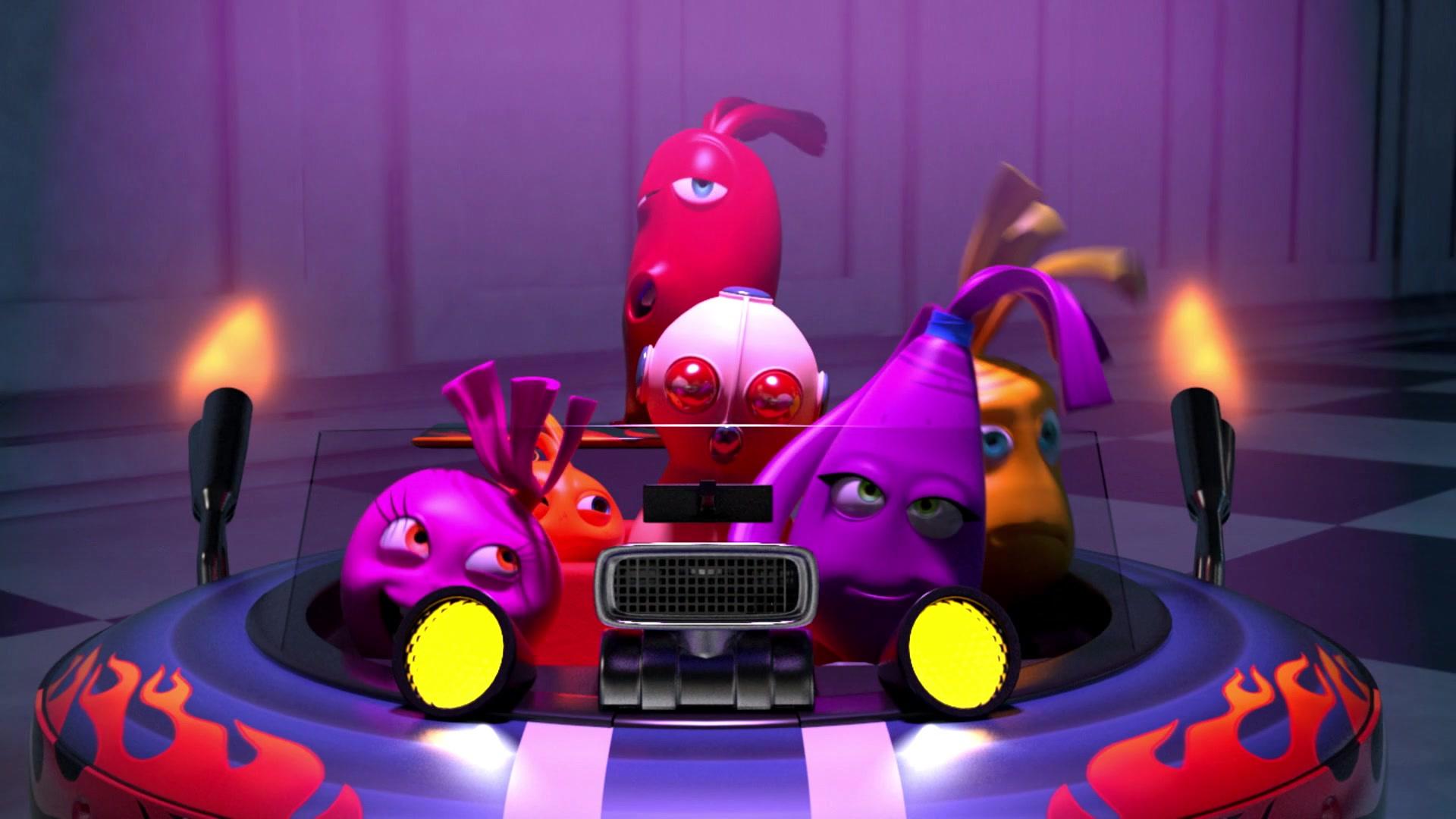 Овощная вечеринка / Робот пылесос