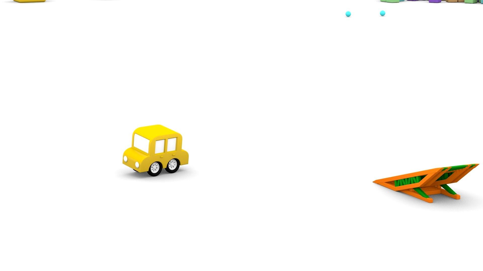 4 машинки / Сборка пожарной машины