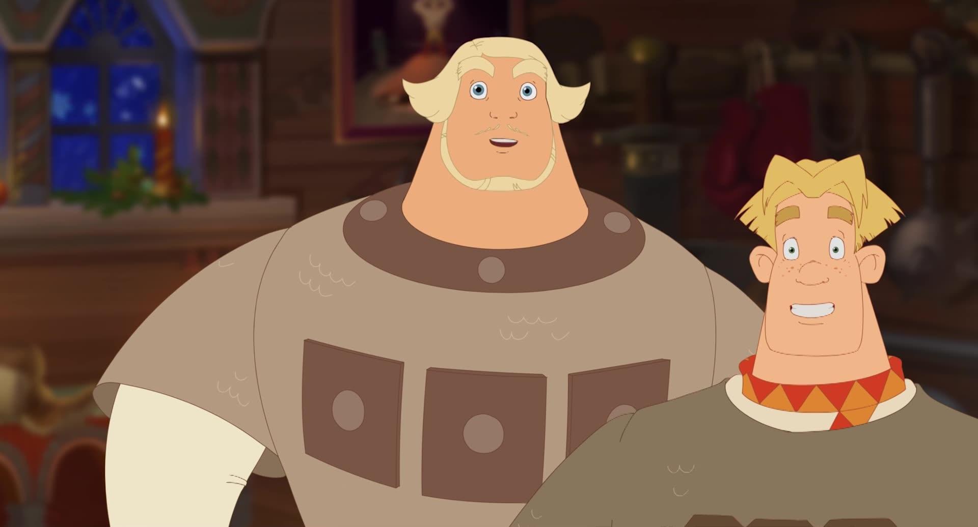 Смотреть мультфильм 3 богатыря и принцесса египта