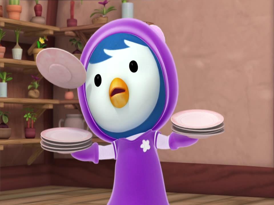 Пингвиненок Пороро / Поби, будь ловким!
