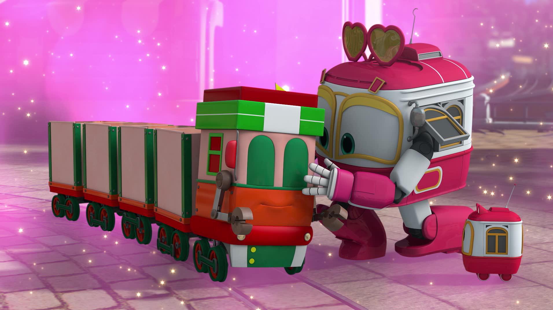 Роботы-поезда / Беги, Кей, беги