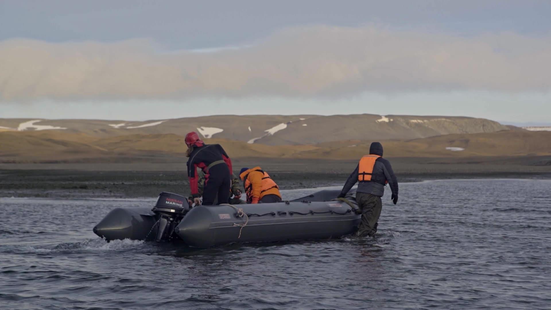 [4K] Арктика. Рискованная экспедиция / Серия 4
