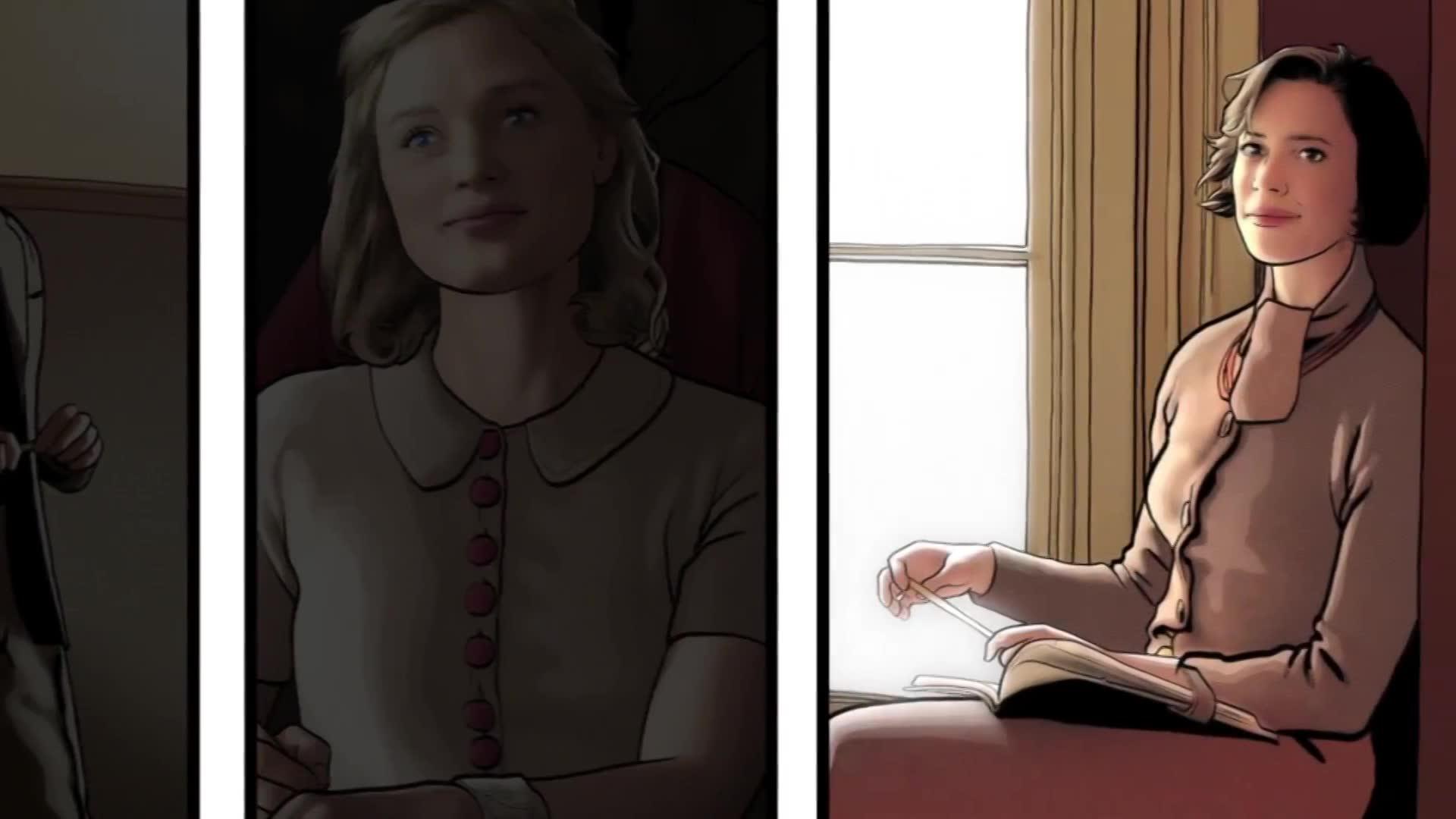 Белла Хиткот Целует Ребекку Холл – Профессор Марстон И Его Чудо-Женщины (2020)