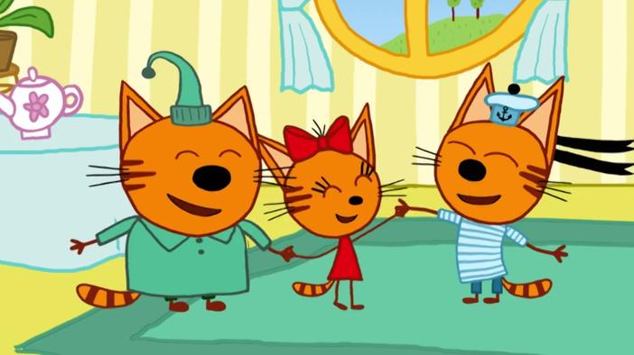 Три кота - ТВ-ролик смотреть онлайн бесплатно