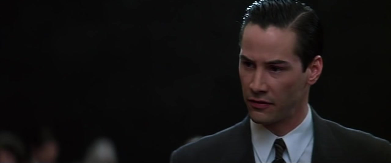 Обнаженная Шарлиз Терон В Церкви – Адвокат Дьявола (1997)