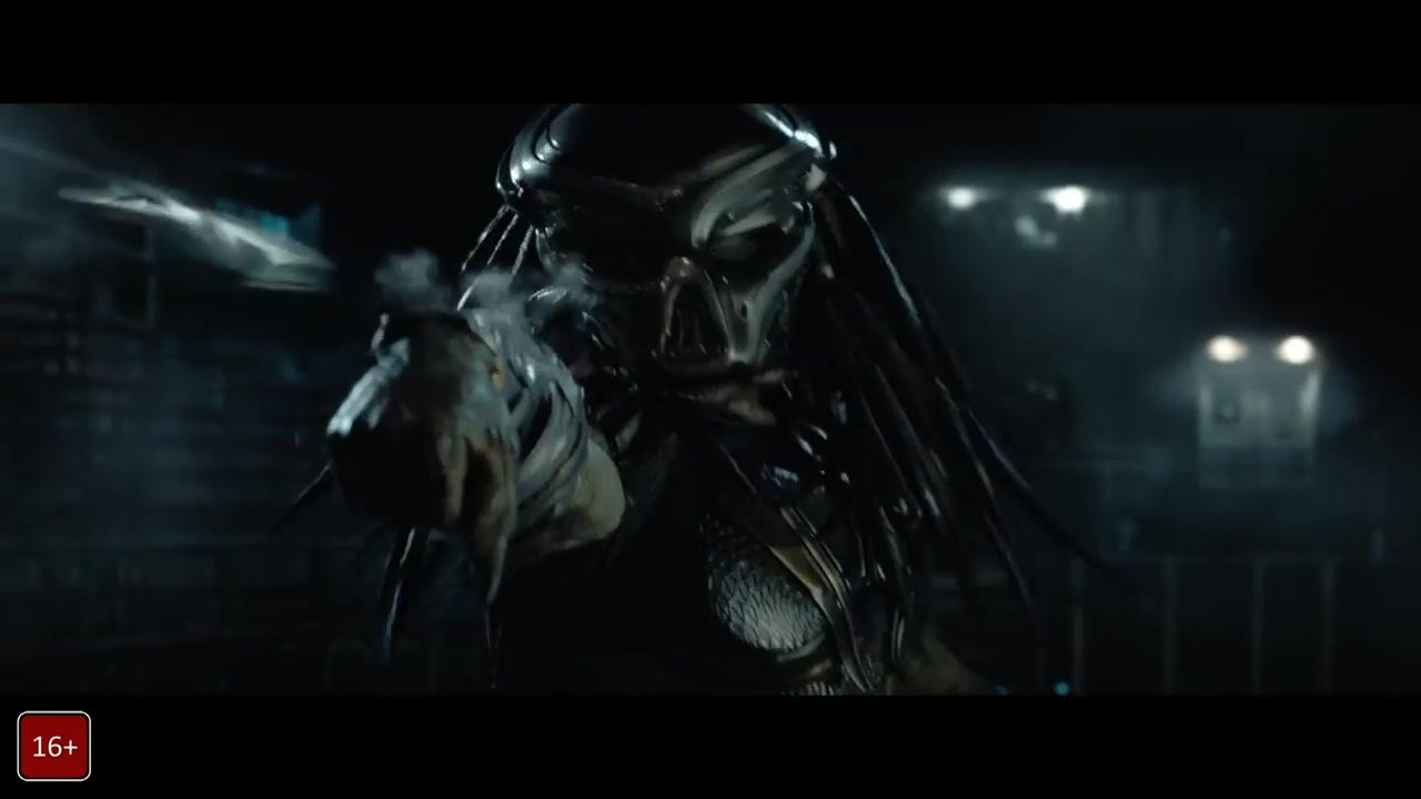 Хищник/ Predator (2018) Трейлер 3 смотреть онлайн видео