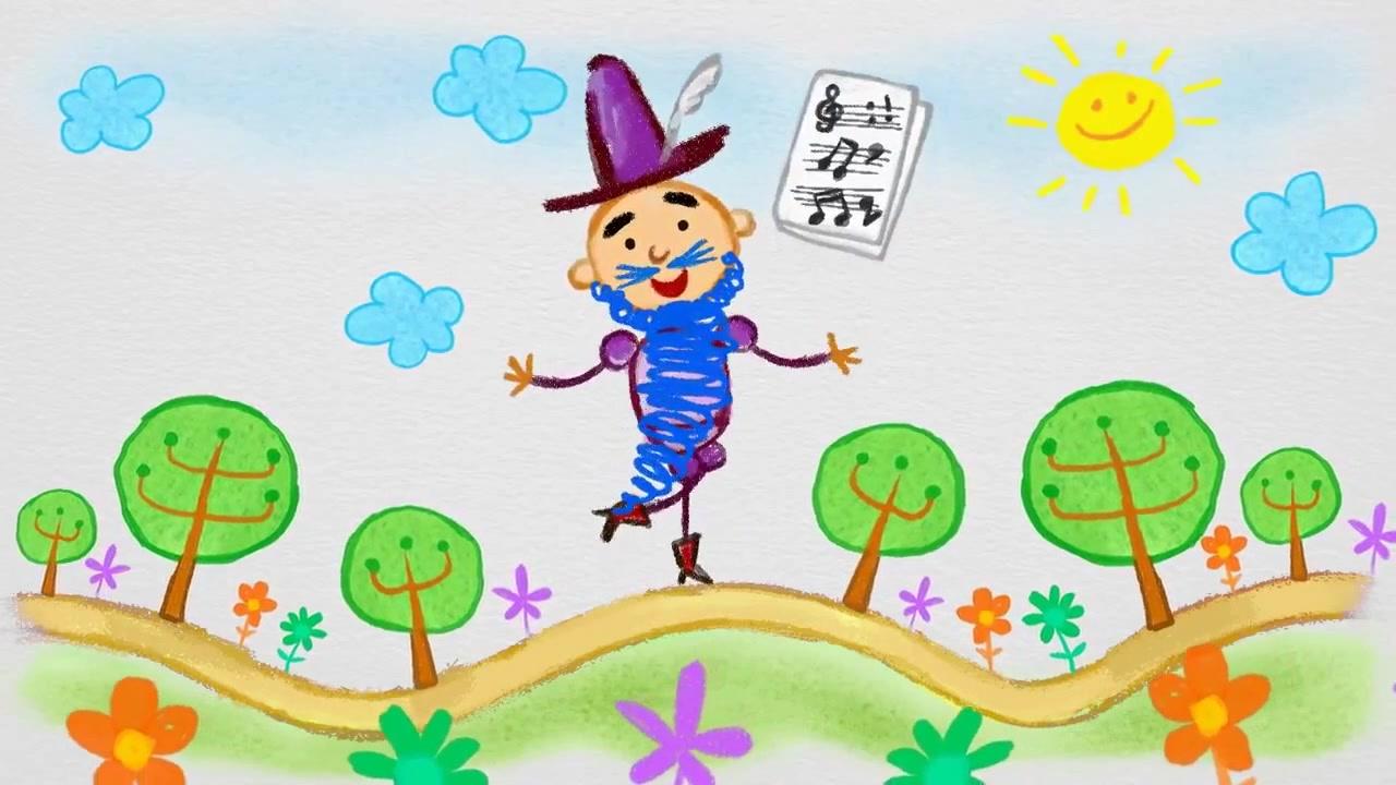 Развивающий мультфильм про фрукты для самых маленьких.